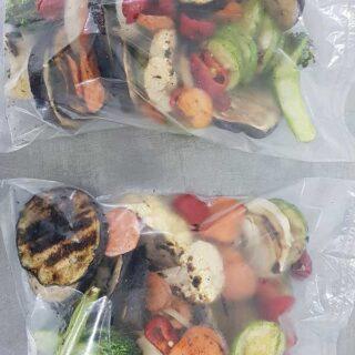 Zamrznuto grilovano povrće