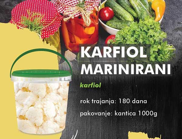 Karfiol marinirani
