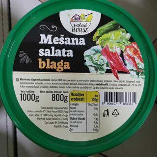 mešana salata blaga