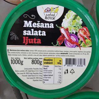 mešana salata ljuta